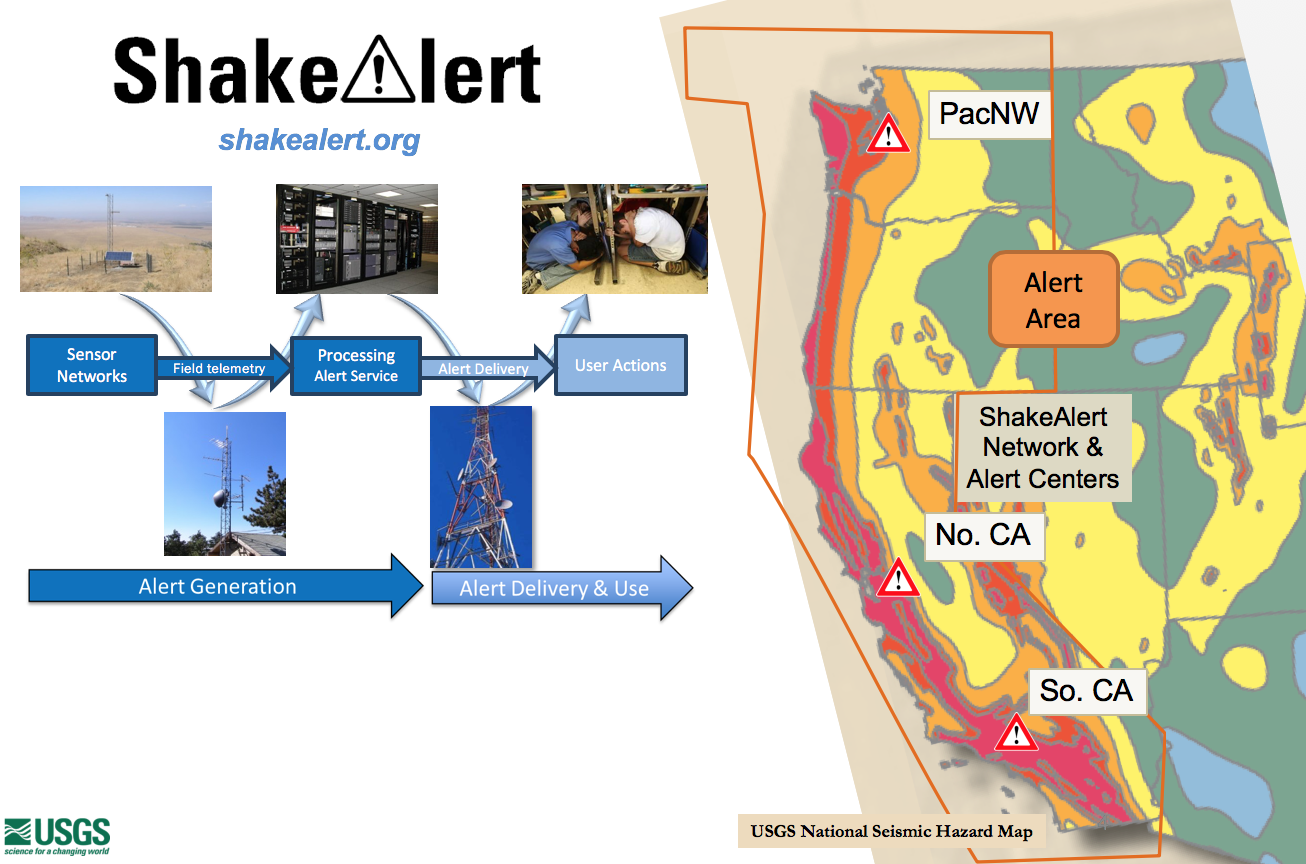 ShakeAlert® | Earthquake Early Warning
